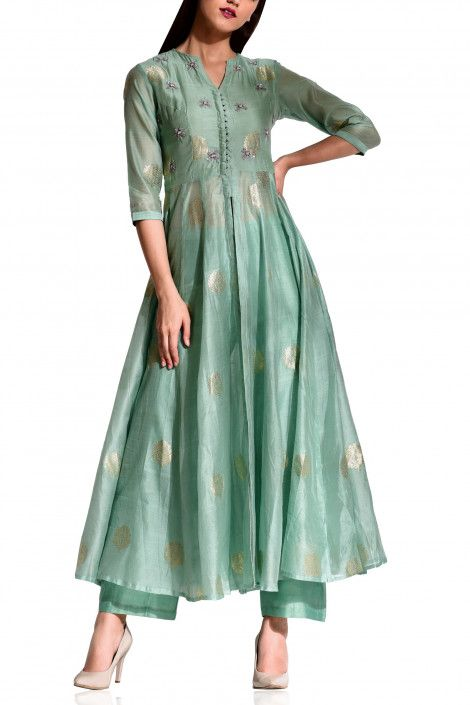 Party Wear Heavy Kurtis For Marriage (59)