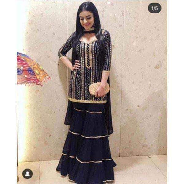 Party Wear Heavy Kurtis For Marriage (60)