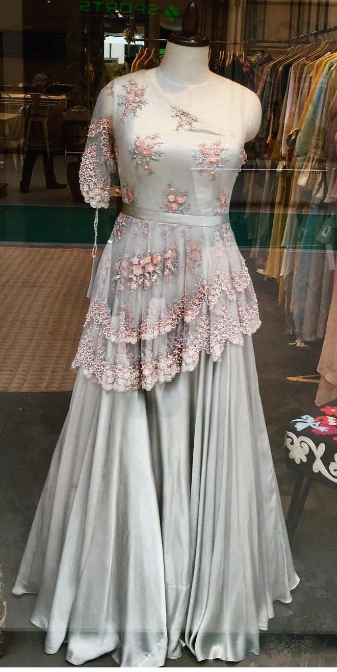 Party Wear Heavy Kurtis For Marriage (64)