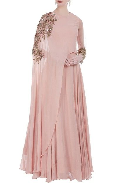 Party Wear Heavy Kurtis For Marriage (73)