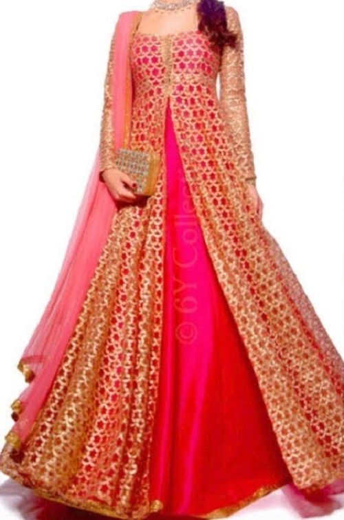Party Wear Heavy Kurtis For Marriage (75)