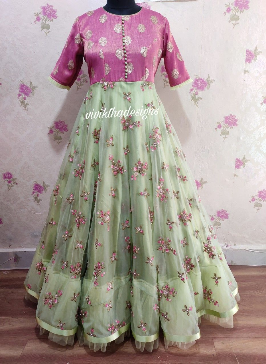 Party Wear Heavy Kurtis For Marriage (77)