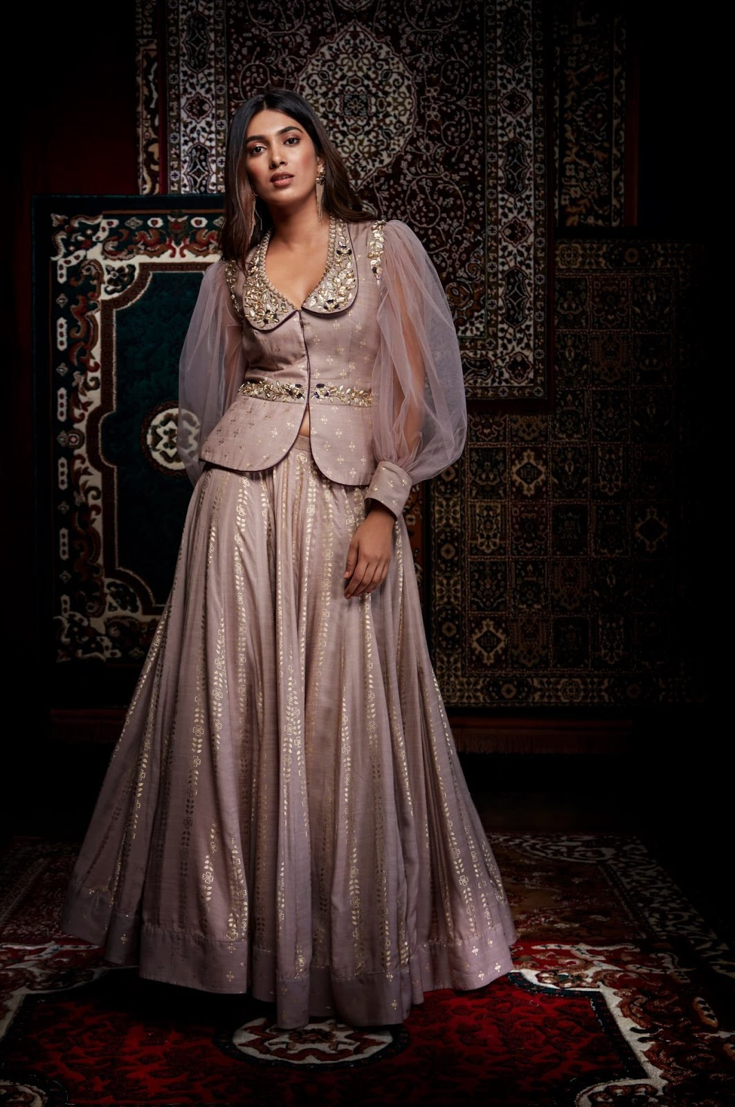 Party Wear Heavy Kurtis For Marriage (84)