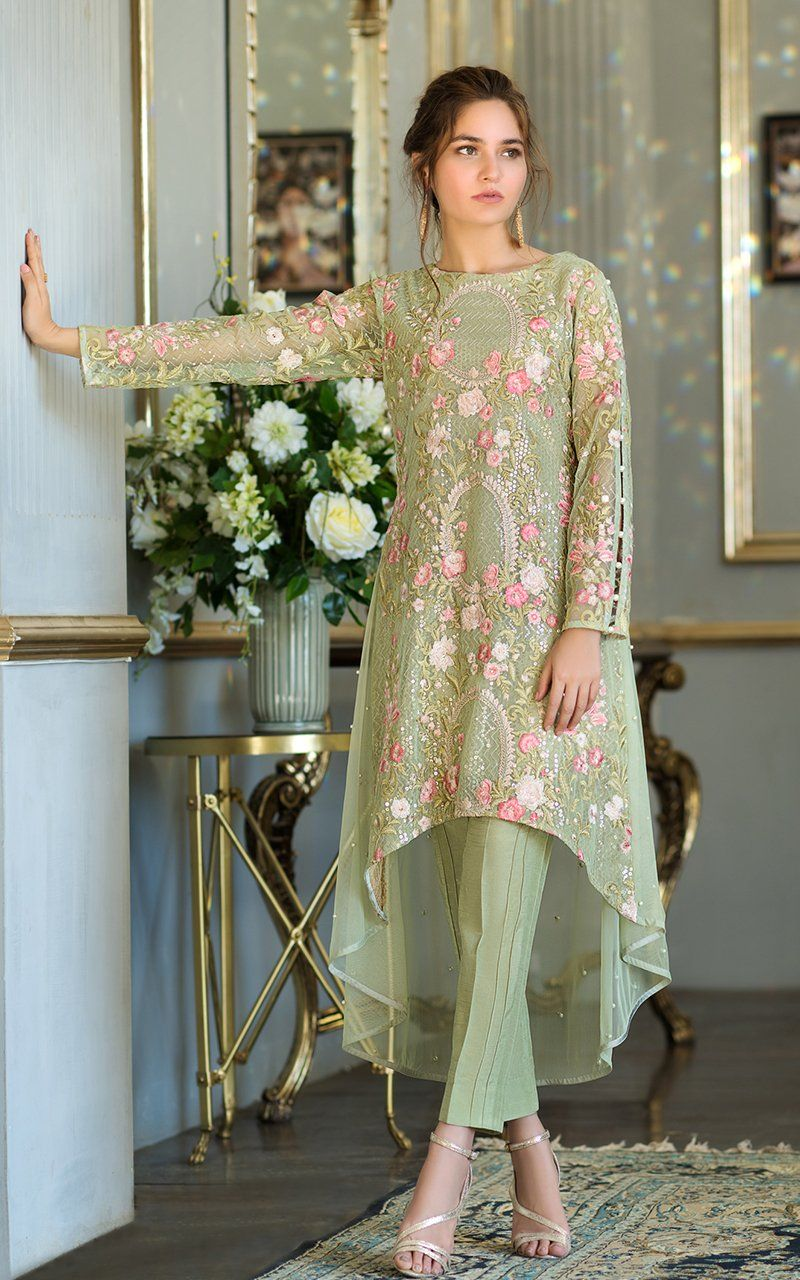 Party Wear Heavy Kurtis For Marriage (89)