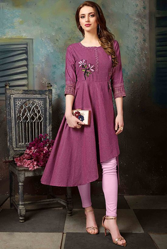 Party Wear Heavy Kurtis For Marriage (9)