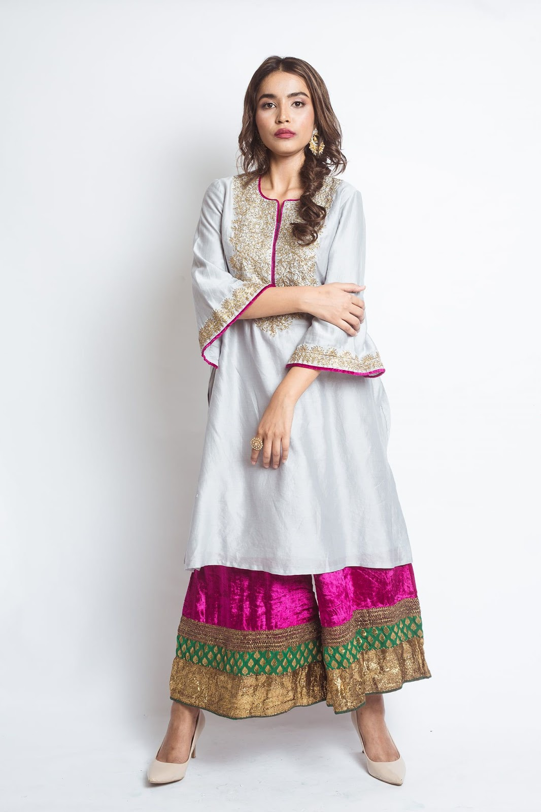 Party Wear Heavy Kurtis For Marriage (90)