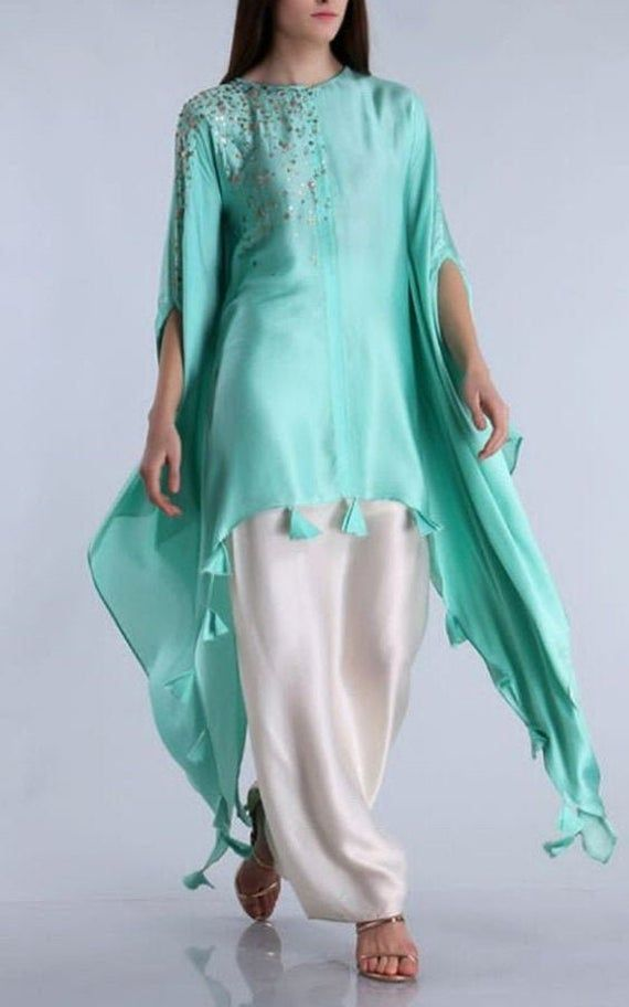 Party Wear Heavy Kurtis For Marriage (99)