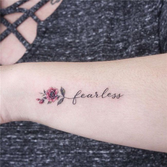 Small Forearm Tattoos For Females (5)