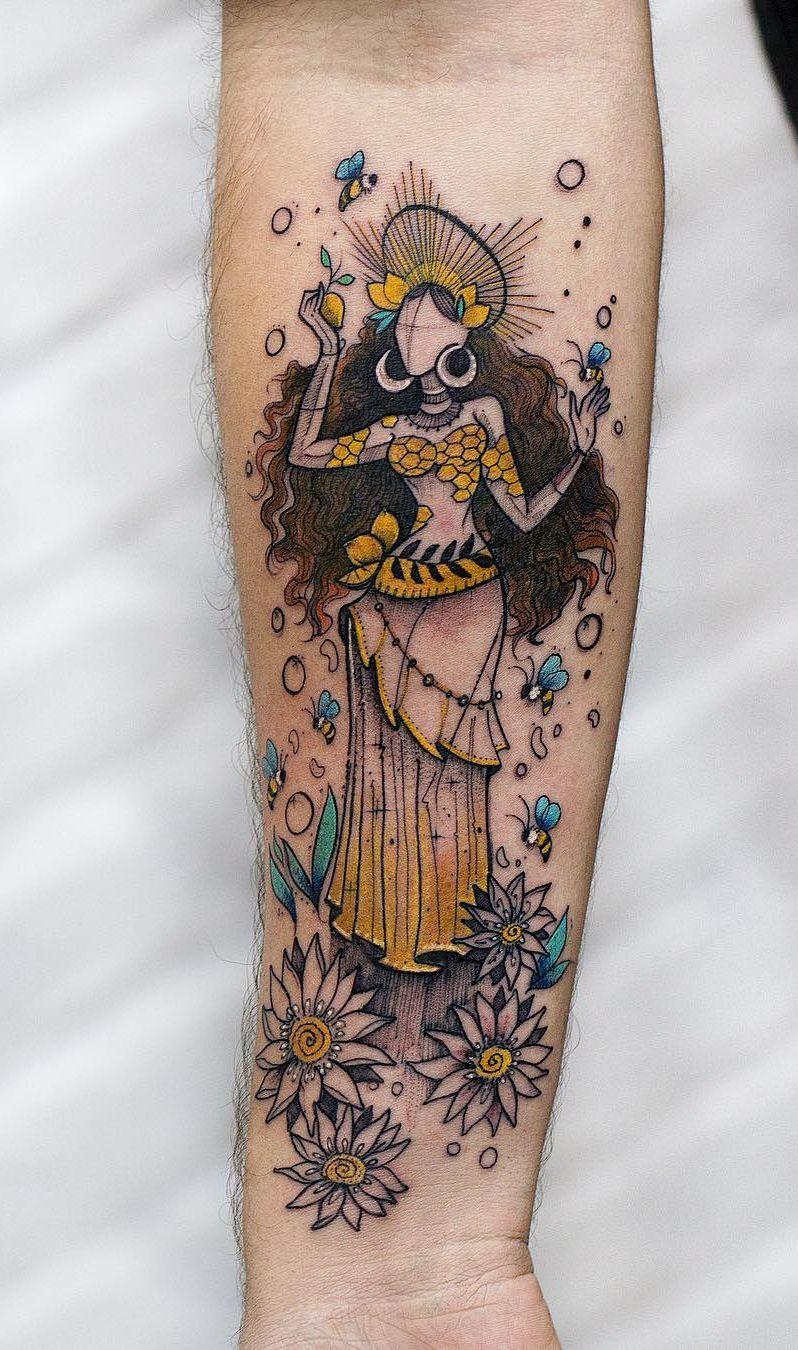 Spiritual Awakening Tattoos Symbol Sign (108)