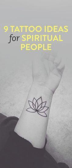 Spiritual Awakening Tattoos Symbol Sign (125)