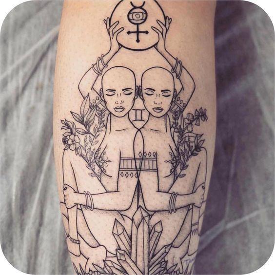 Spiritual Awakening Tattoos Symbol Sign (143)