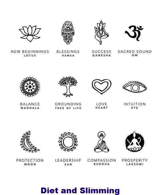 Spiritual Awakening Tattoos Symbol Sign (164)