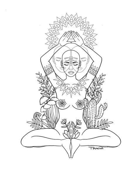 Spiritual Awakening Tattoos Symbol Sign (175)