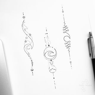 Spiritual Awakening Tattoos Symbol Sign (178)
