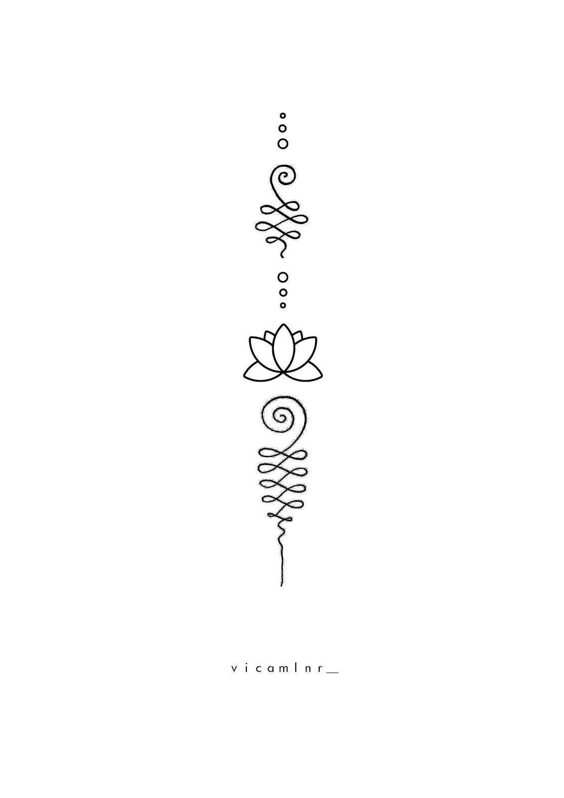 Spiritual Awakening Tattoos Symbol Sign (201)