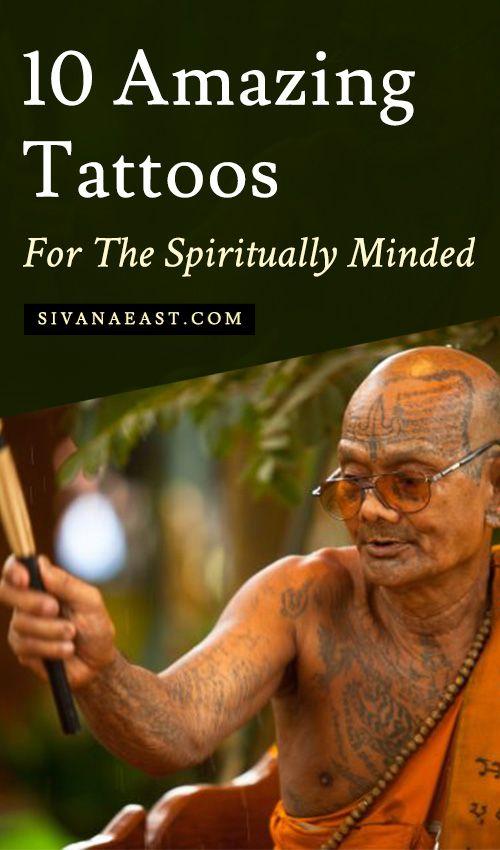 Spiritual Awakening Tattoos Symbol Sign (207)