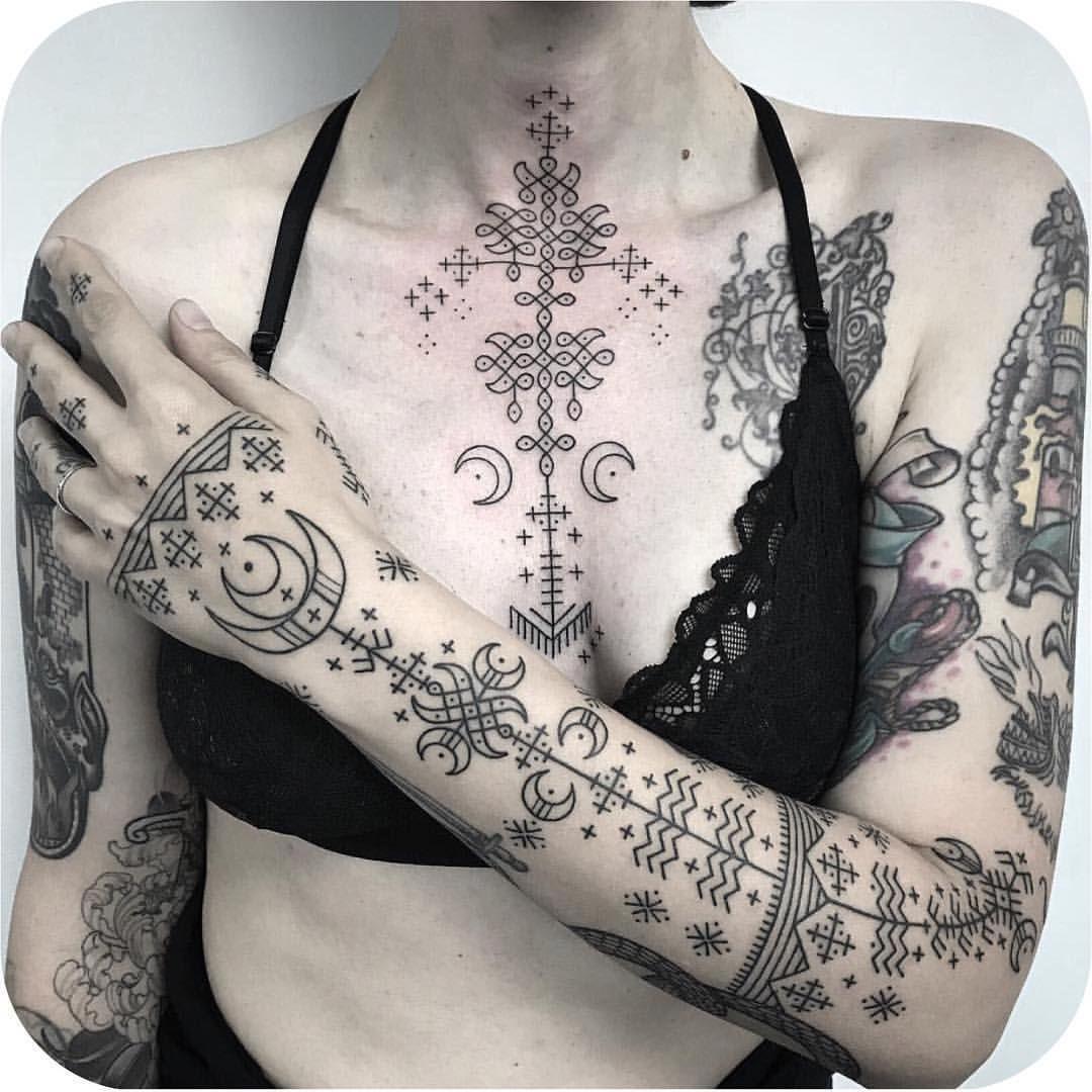 Spiritual Awakening Tattoos Symbol Sign (208)