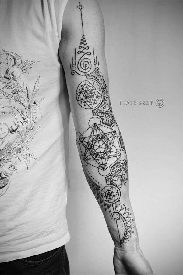 Spiritual Awakening Tattoos Symbol Sign (229)