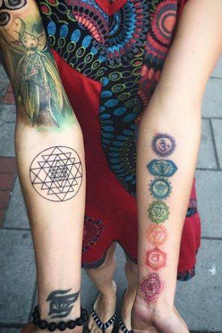 Spiritual Awakening Tattoos Symbol Sign (233)