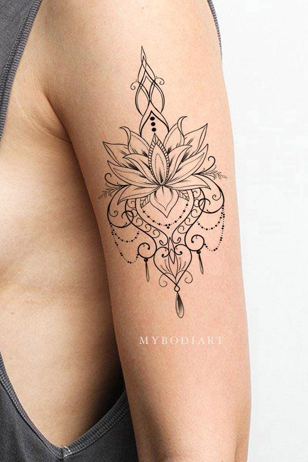 Spiritual Awakening Tattoos Symbol Sign (52)