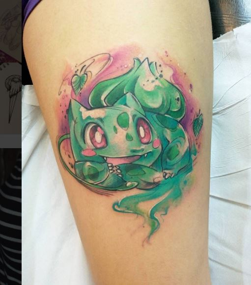 Pokemon Tattoo 1
