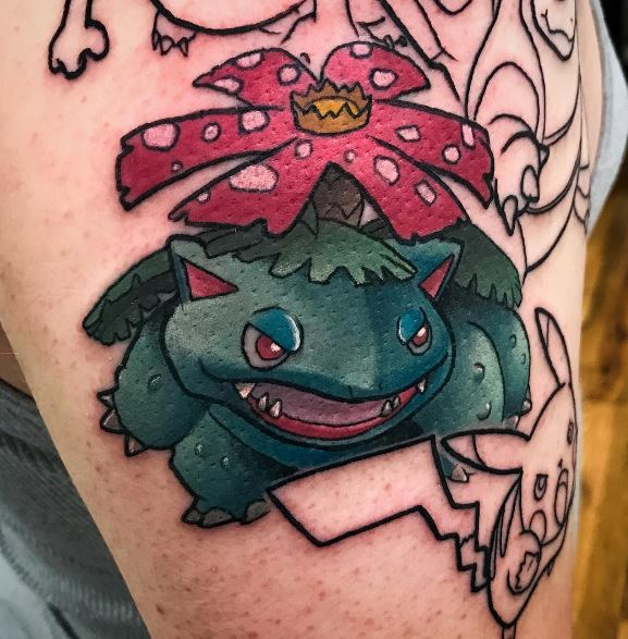 Pokemon Tattoo 12