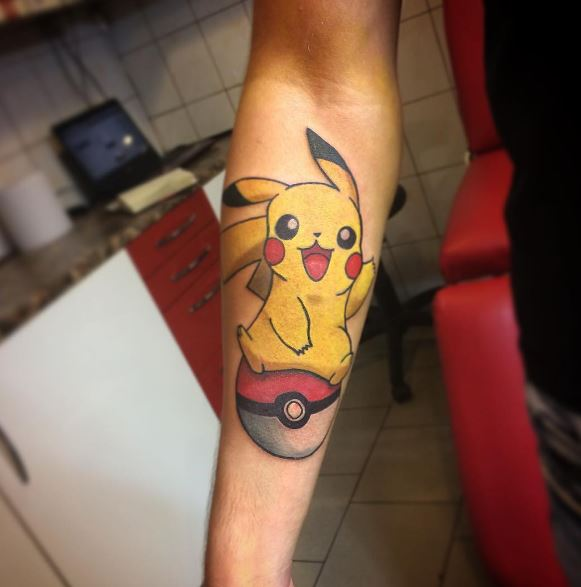Pokemon Tattoo 19