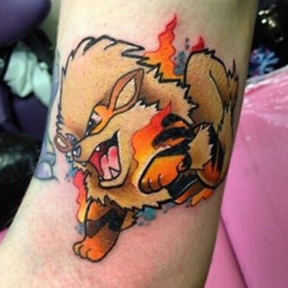 Pokemon Tattoo 33