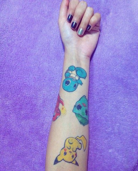Pokemon Tattoo 34