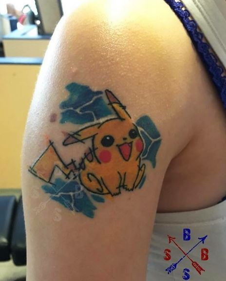 Pokemon Tattoo 35