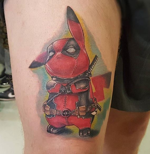Pokemon Tattoo 38
