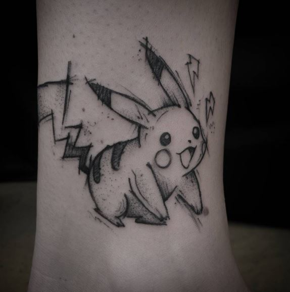 Pokemon Tattoo 4