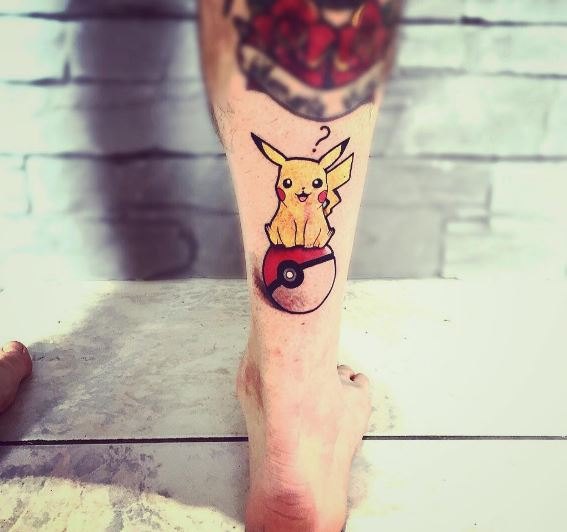 Pokemon Tattoo 55