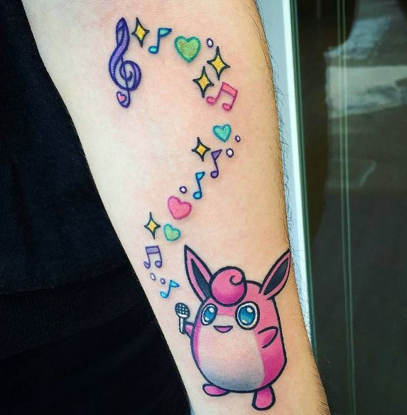 Pokemon Tattoo 60