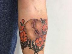 baseball tattoo designs ideas