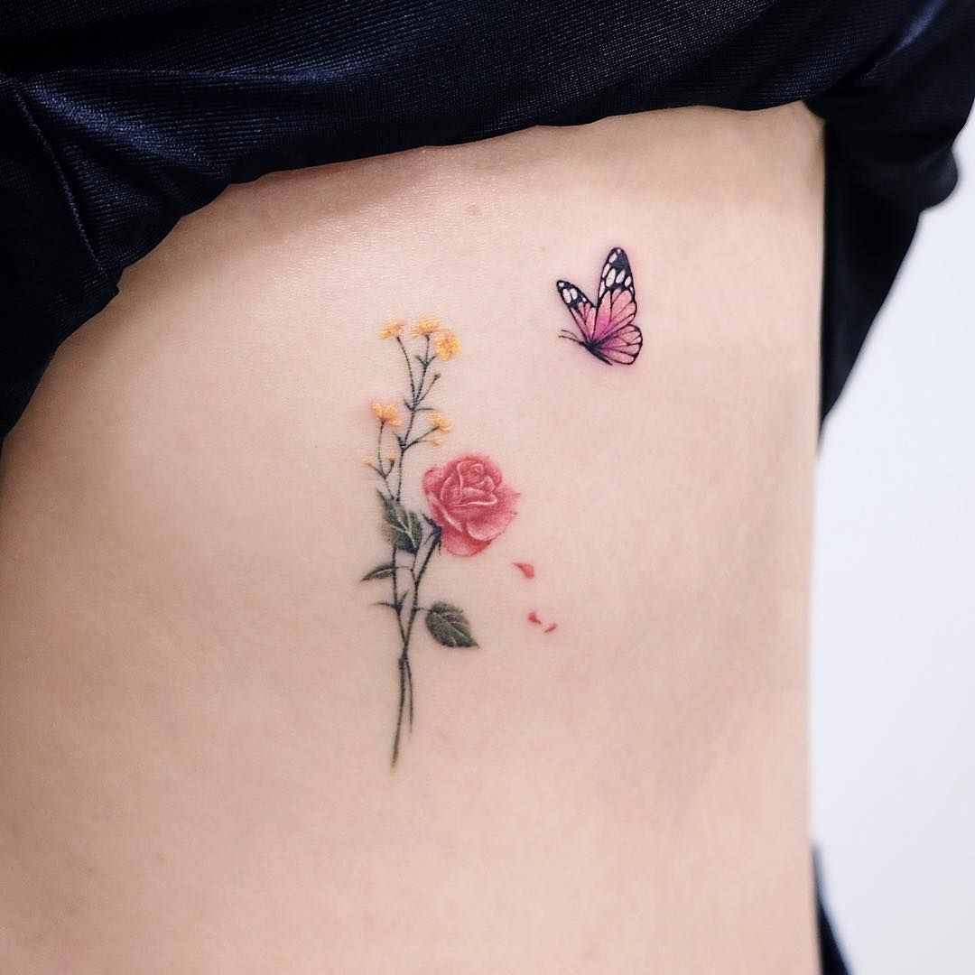 Cute Small Tattoo Designs For Girls Female Women (156)