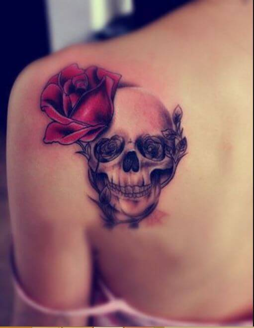 Skull Tattoos For Girls
