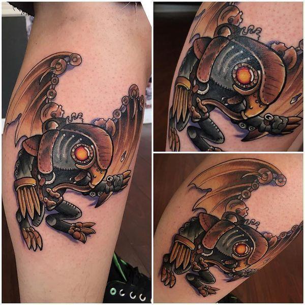 Small Simple Bioshock Tattoo Designs (100)