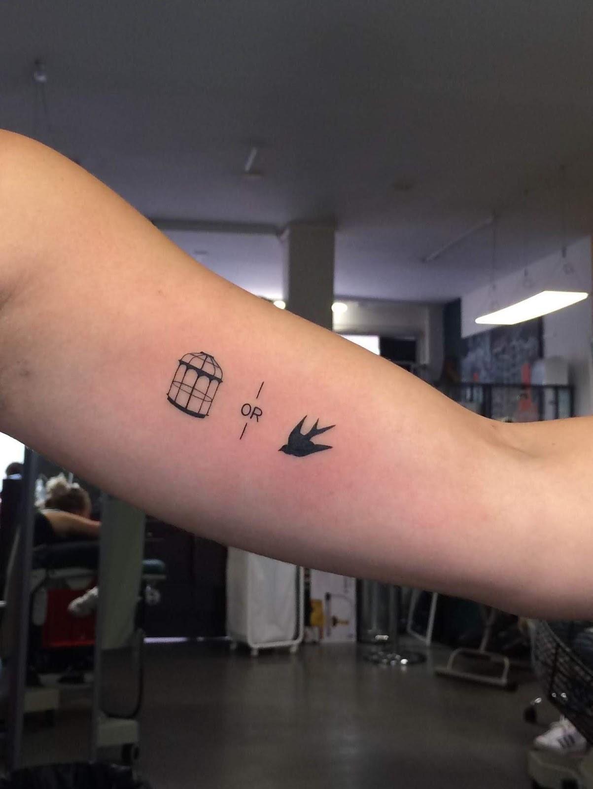 Small Simple Bioshock Tattoo Designs (102)