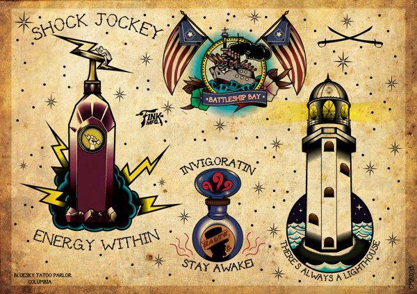 Small Simple Bioshock Tattoo Designs (105)