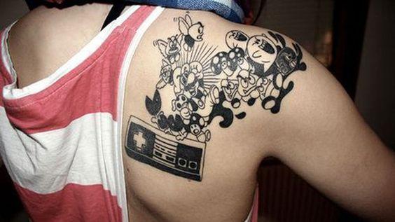 Small Simple Bioshock Tattoo Designs (118)