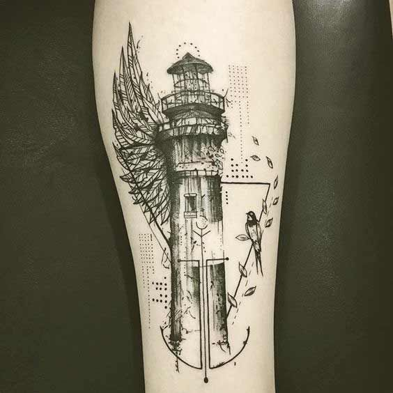 Small Simple Bioshock Tattoo Designs (147)