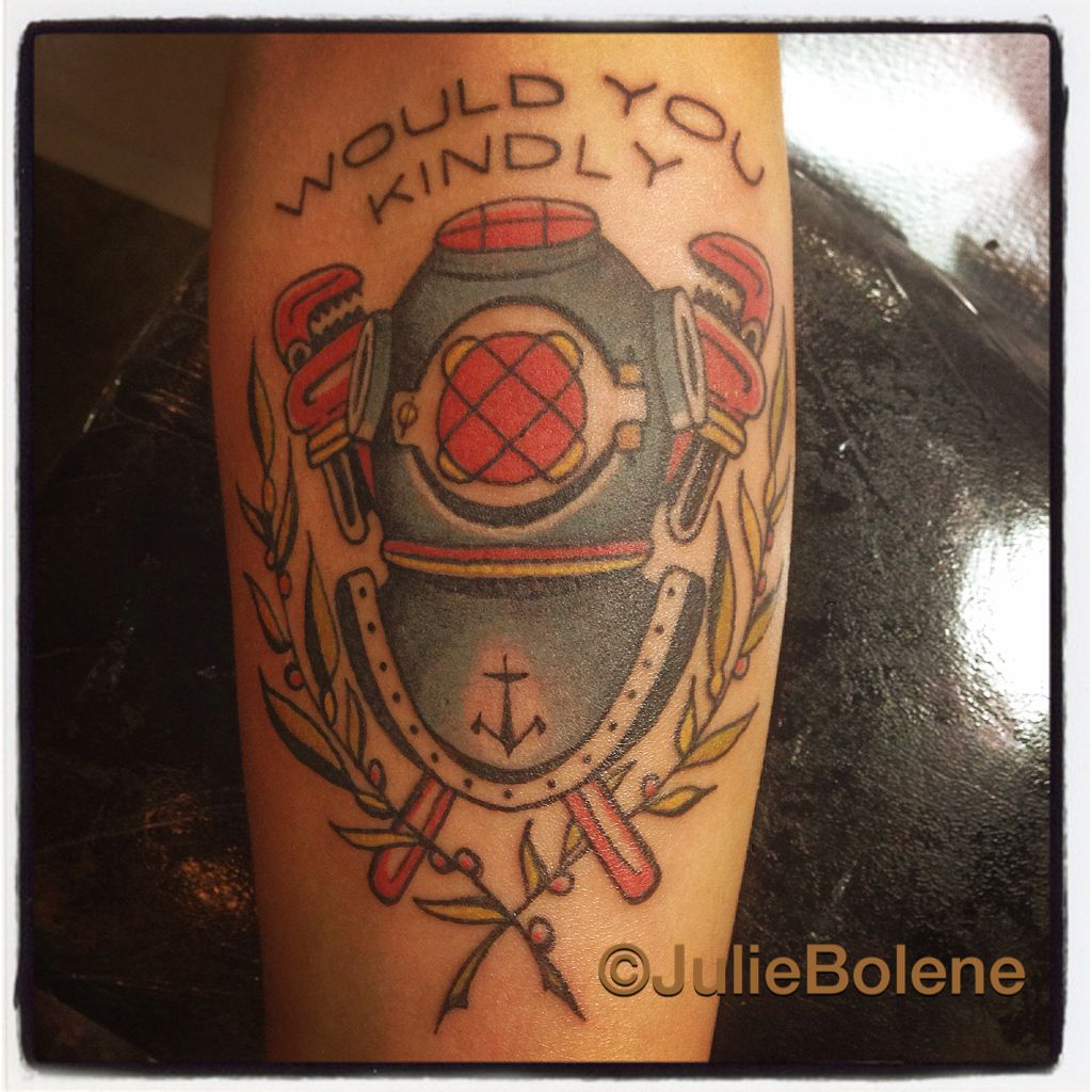 Small Simple Bioshock Tattoo Designs (168)