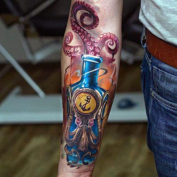 Small Simple Bioshock Tattoo Designs (185)