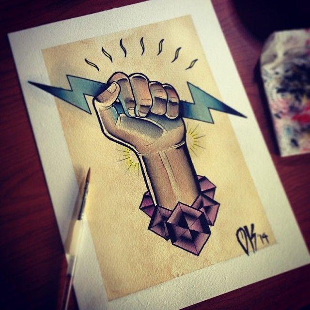 Small Simple Bioshock Tattoo Designs (23)