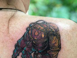small simple bioshock tattoo designs