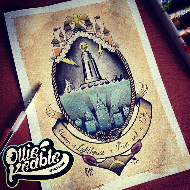 Small Simple Bioshock Tattoo Designs (39)
