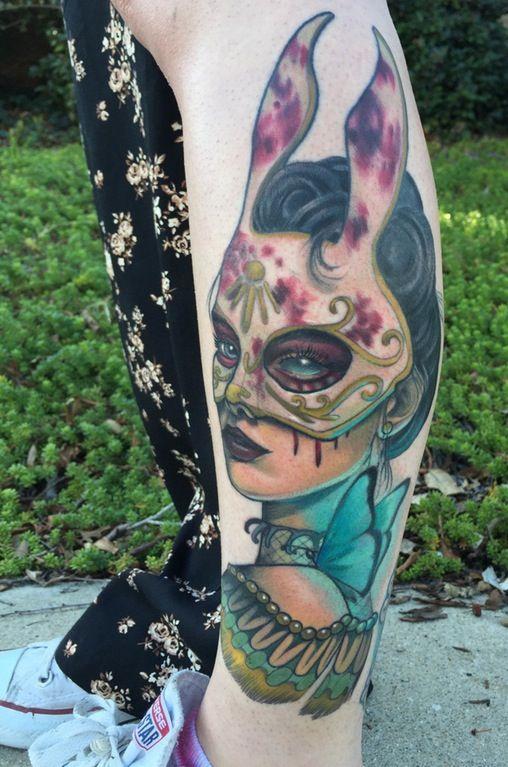 Small Simple Bioshock Tattoo Designs (72)
