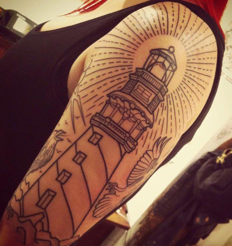 Small Simple Bioshock Tattoo Designs (94)