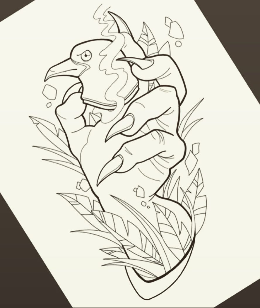 Small Simple Bioshock Tattoo Designs (98)
